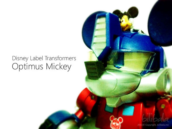 Optimus Mickey Prime