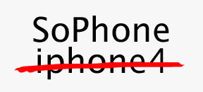 Why Iphone? See SoPhone!
