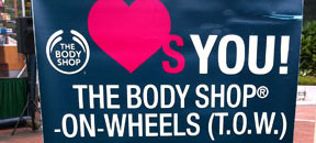 Body Shop on the move!