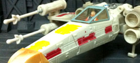 Starwars Transformers: X-Wing Luke Skywalker