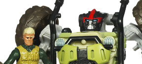 Transformers Dark of the Moon: Human Alliances!