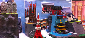 Nanoblock Display @ Isetan KLCC