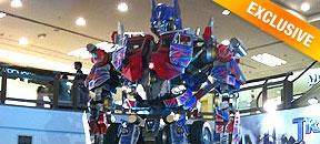 Transformers Event @ Oval, 1 Utama Malaysia