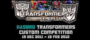 Hasbro Transformers Custom Competition