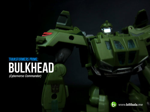 TF Prime Cyberverse Commander: Bulkhead