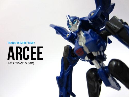 TF Prime Cyberverse Legion: Arcee