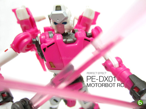 Perfect Effect DX 01 Motorbot Arcee (RC)