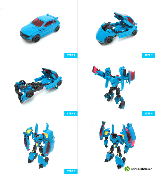 Transformers Prime Rumble: transformation