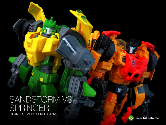 Sandstorm VS Springer – TF Generations